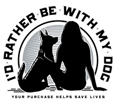 I'd Rather Be With My Dog - Check Out Trendy Dog Owner Apparel At IdRatherBeWithMyDog.net!